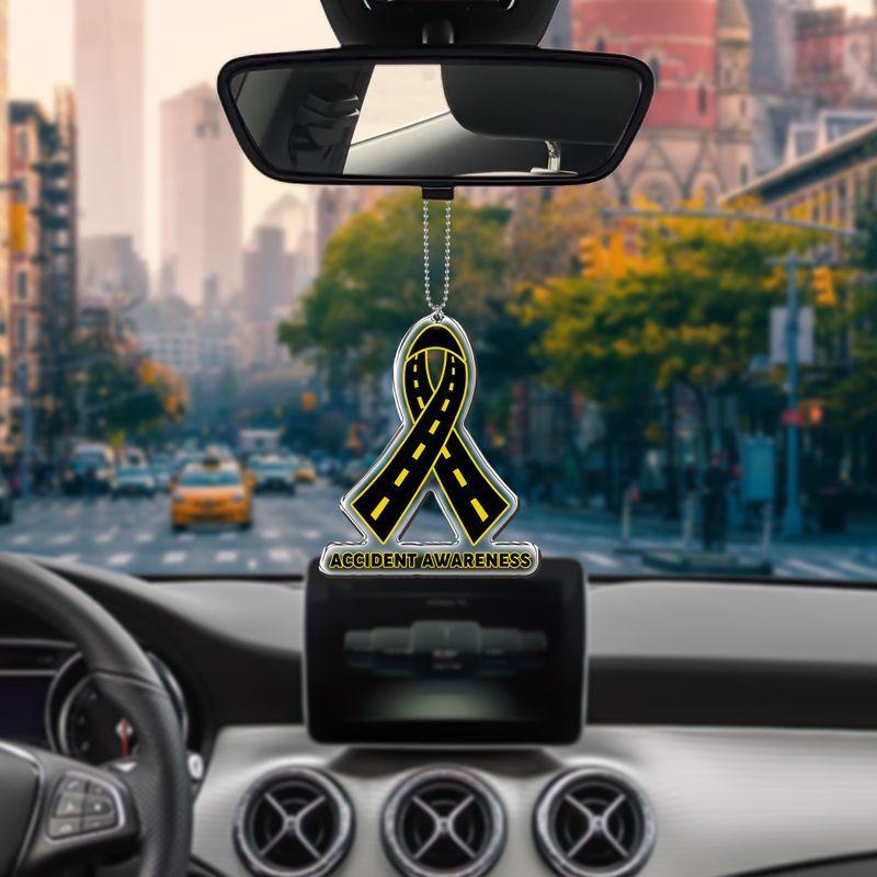 Accident Awareness car hanging Ornament