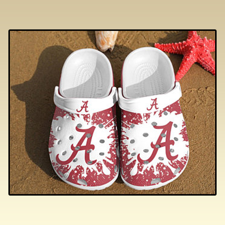 Alabama Crimson Tide croc crocband shoes3