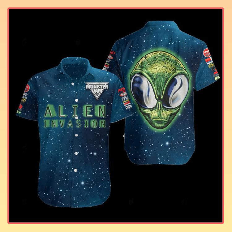 Alien Invasion Hawaiian Shirt3
