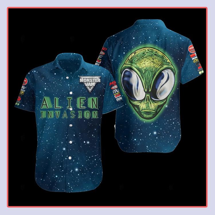 Alien Invasion Hawaiian Shirt4