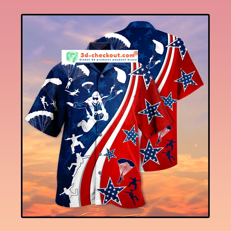 America Parachute jump Hawaiian3
