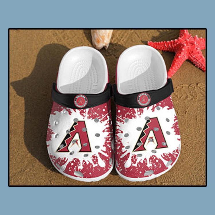 Arizona Diamondbacks croc crocband shoes1