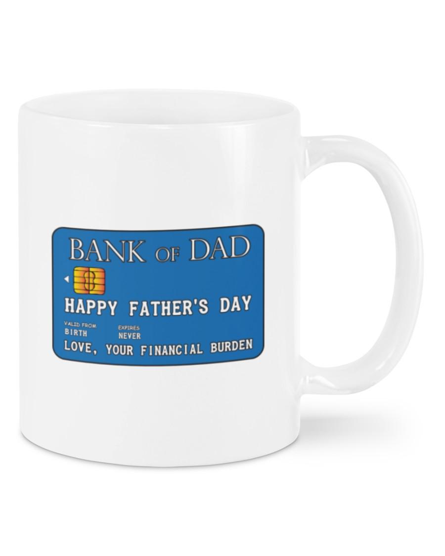 Bank Of Dad Happy Fathers Day Mug