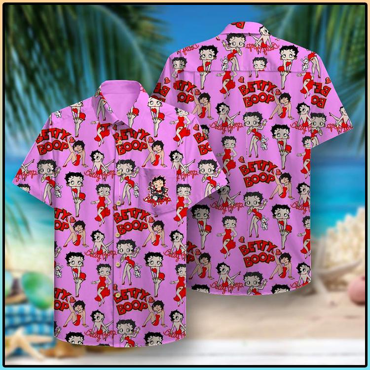 Betty Boop Hawaiian Shirt2 1