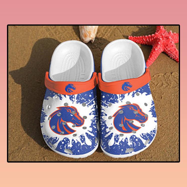 Boise State Broncos croc crocband shoes 3