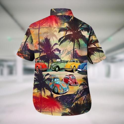 Bug car Hawaii Shirt and Shorts3