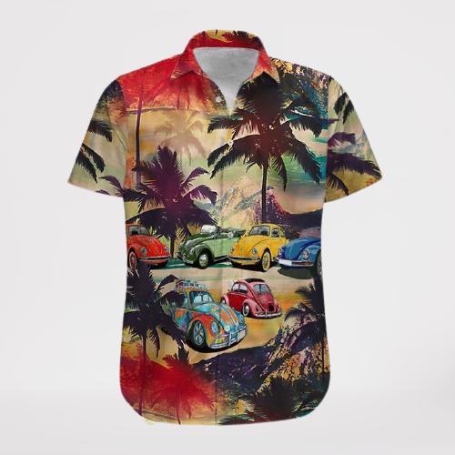 Bug car Hawaii Shirt and Shorts4