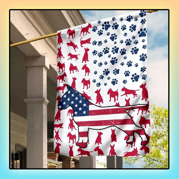 Bull Amercian house flag and garden flag3