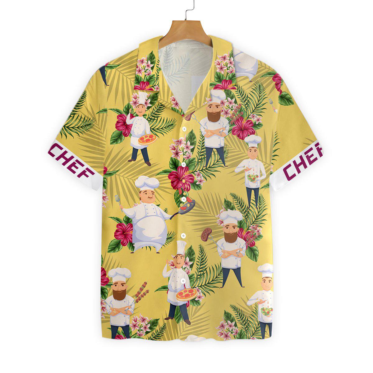 Chef Hawaiian Shirt2