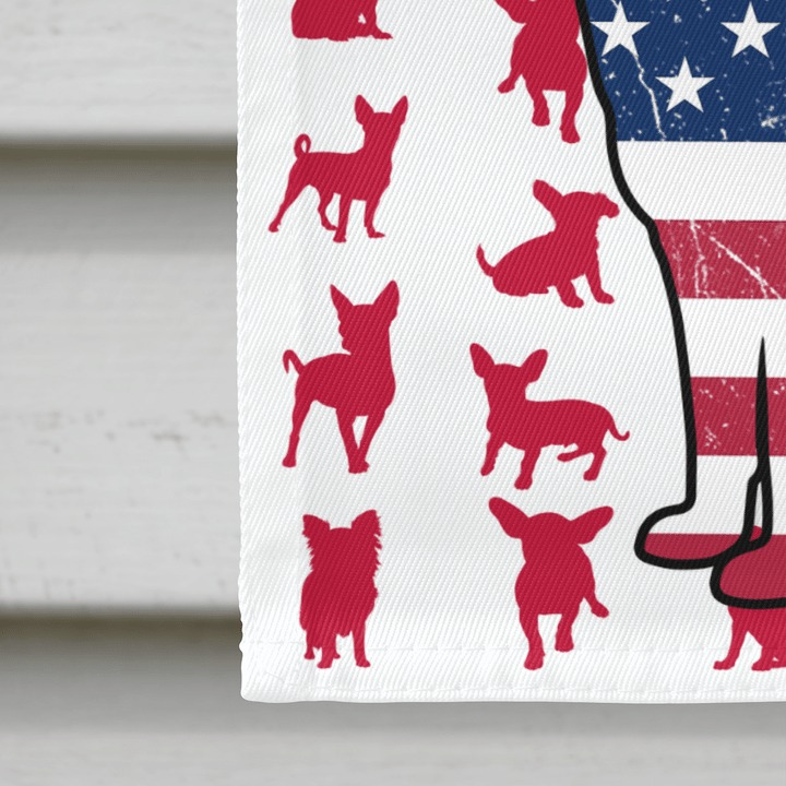 Chihuahua Amercian house flag and garden flag4