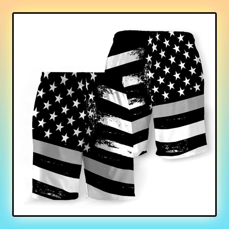 Corrections American Flag Beach Short1