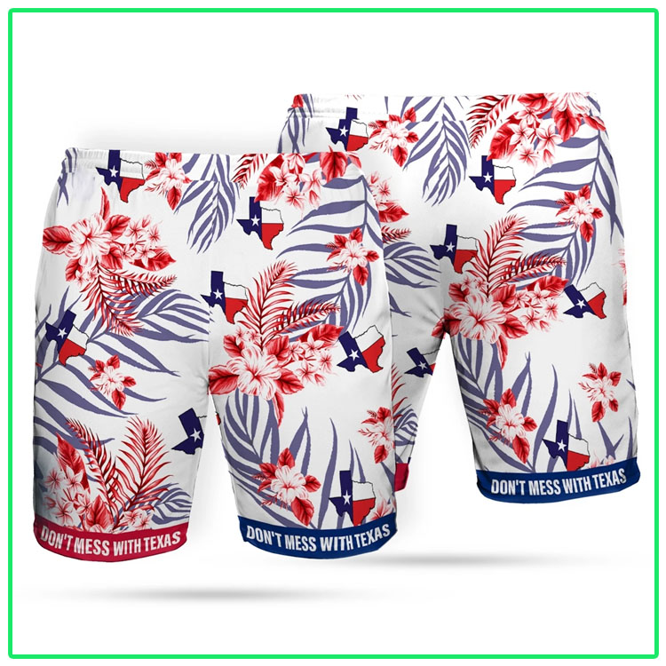 Dont mes with texas Beach short