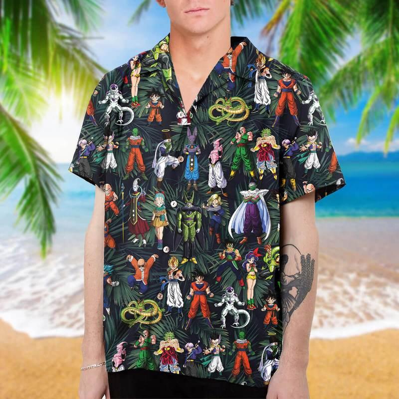 Dragon Ball hawaiian shirt as