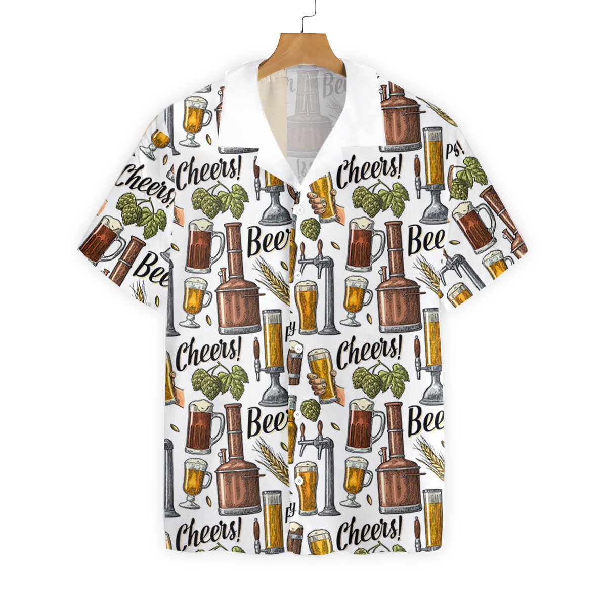 Trucks are like kisses you cant just have one unisex hawaiian shirt2