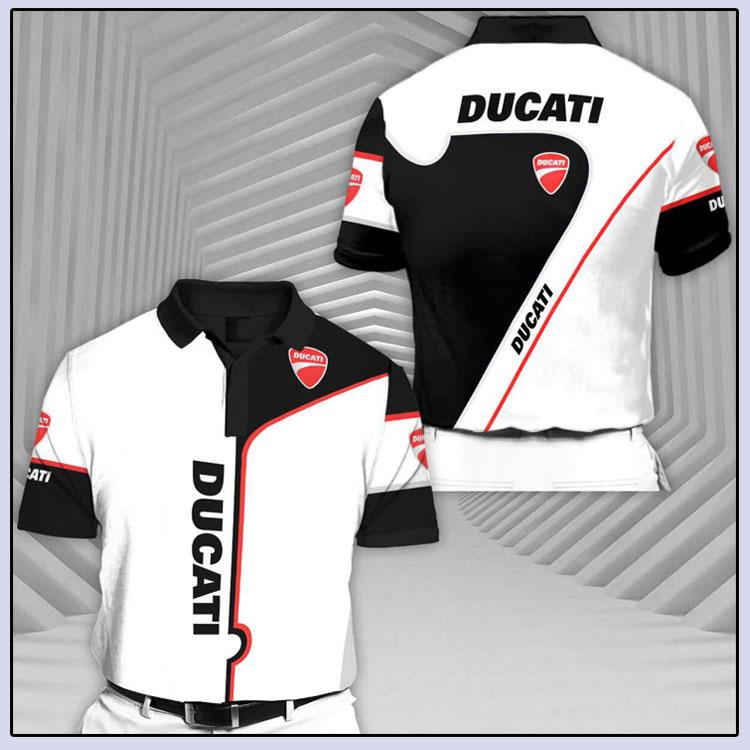 Ducati Rcv1 Short Sleeve Polo Shirt2
