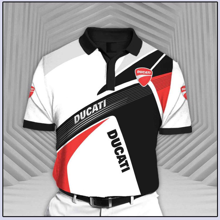 Ducati Rcv1 Short Sleeve Polo Shirt5