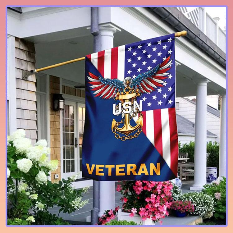 Eagle veteran USN American flag7