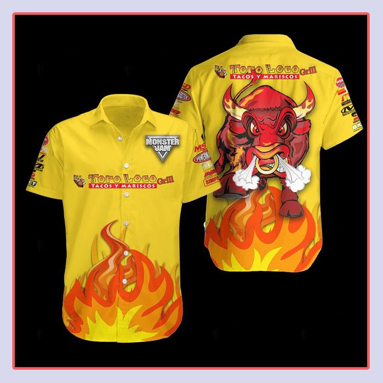 El Toro Loco Hawaiian Shirt1