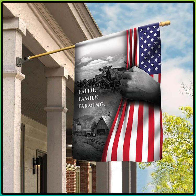 Faith Family Farming American Flag3