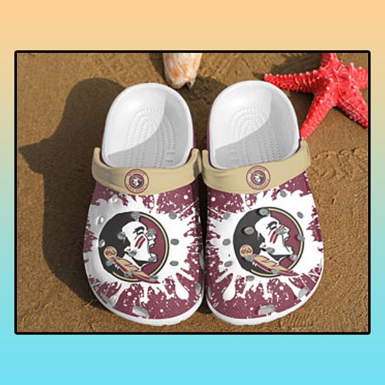 Florida State Seminoles croc crocband shoes 4