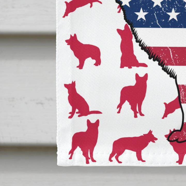 GSD Amercian house flag and garden flag3