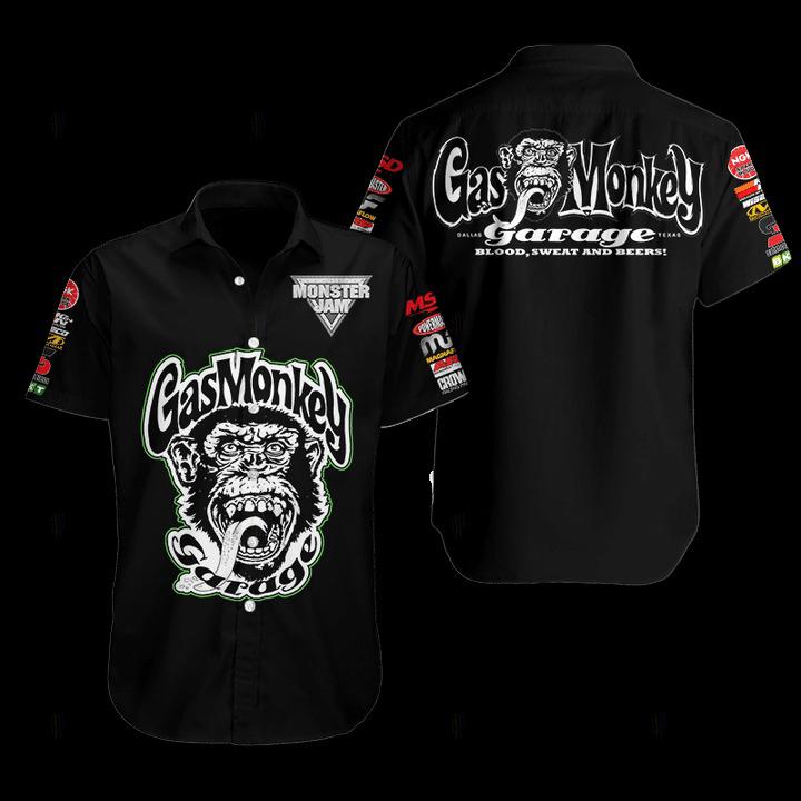 Gas Monkey Hawaiian Shirt