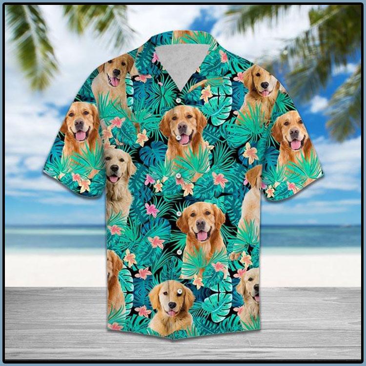 Golden-Retriever-Haiiwan-Shirt4