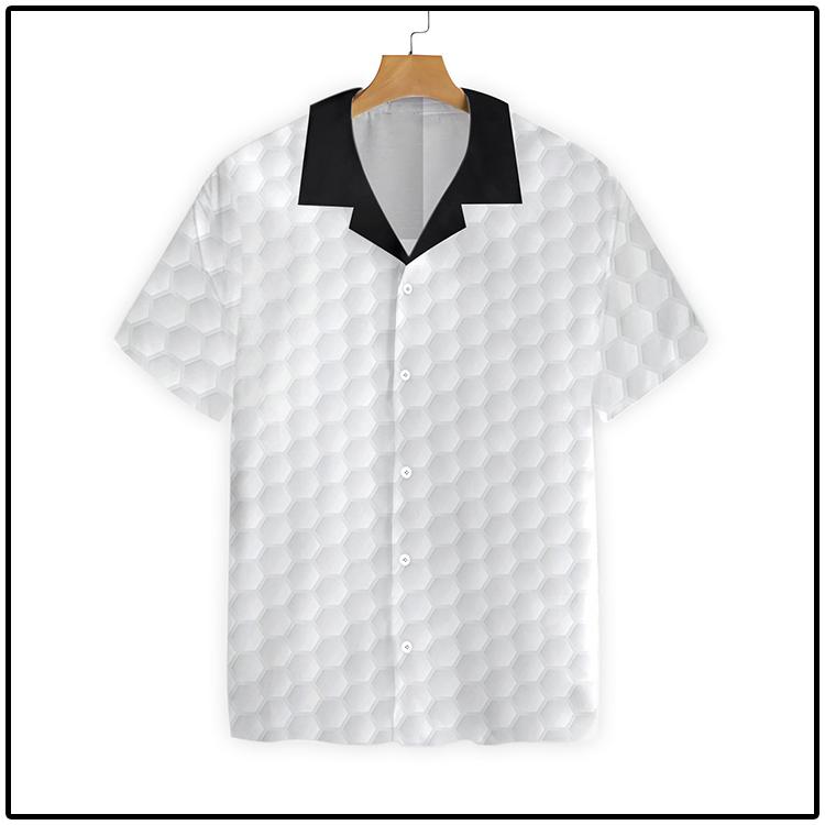 Golf Ball Texture Hawaiian Shirt4
