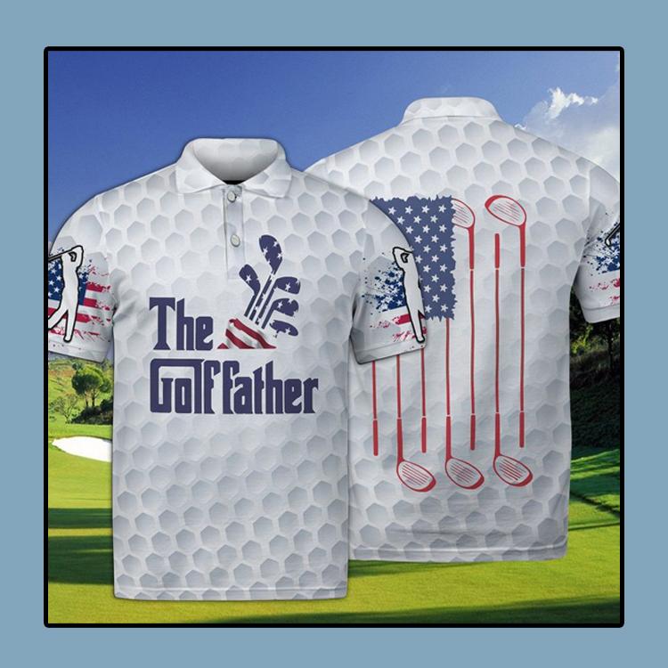 Golf The Golffather Polo Shirt4