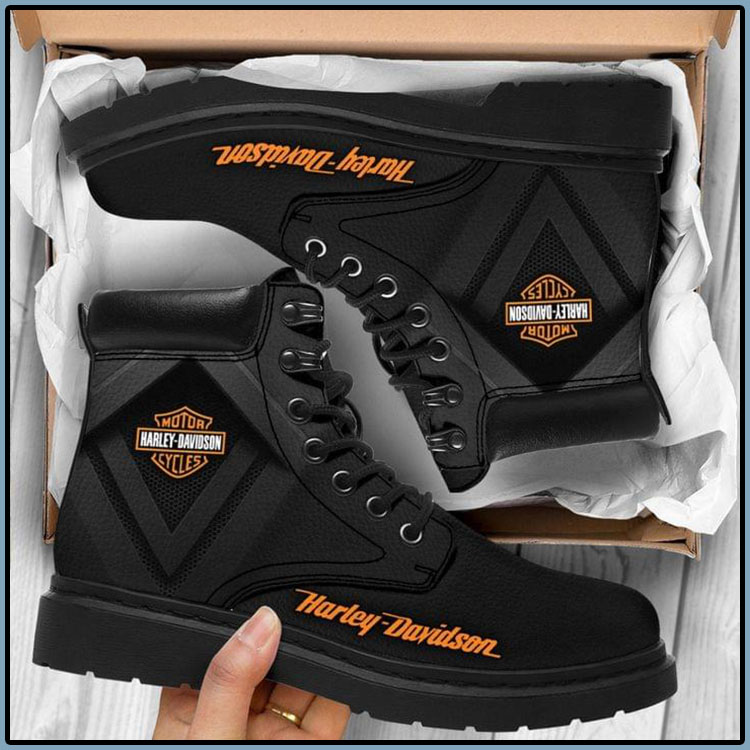 Harley Davodson Motor Cycles Boots1 1
