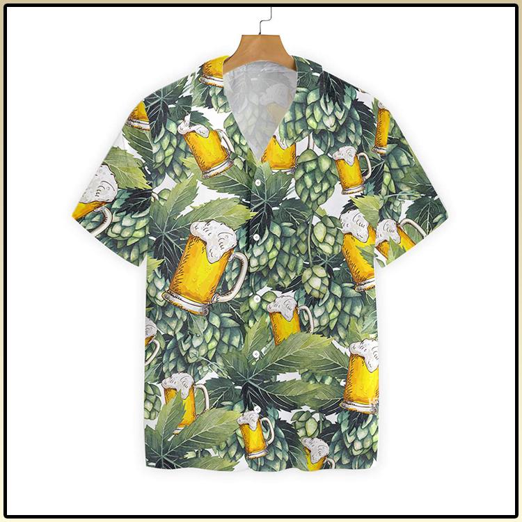 Hops And Craft Beer Hawaiian Shirt4