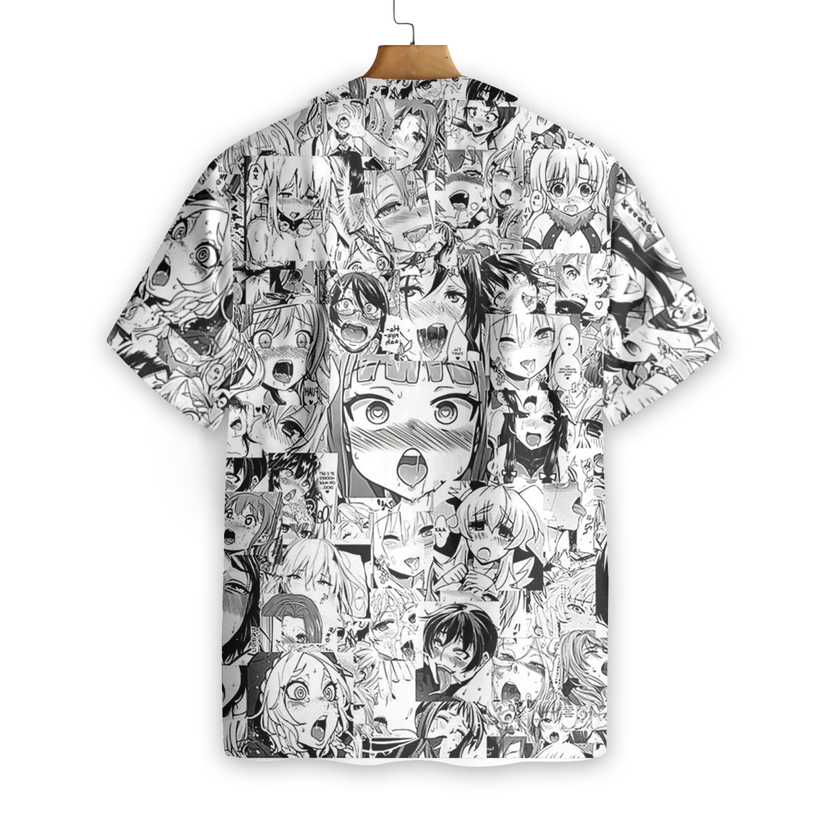 Hot Chick Anime Hawaiian Shirt1