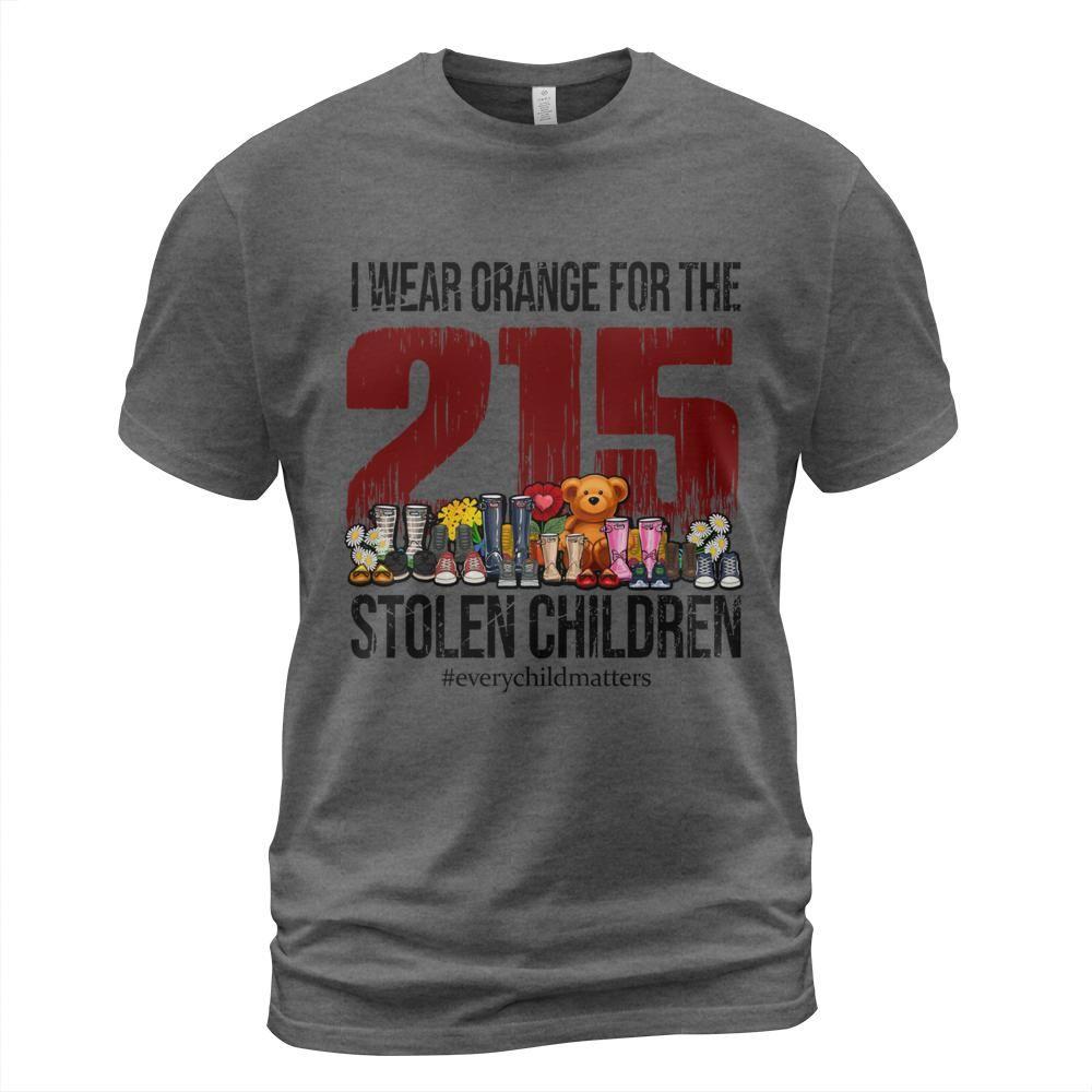 I Wear Orange For The 215 Stolen Children Shirt