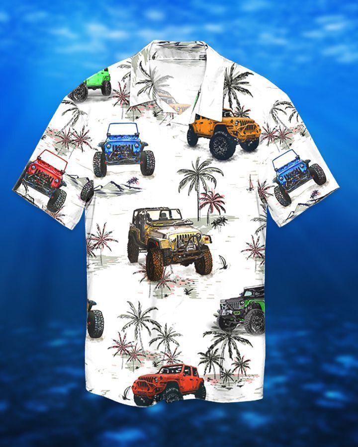 Jeeps Beach Hawaiian Shirt and Short3