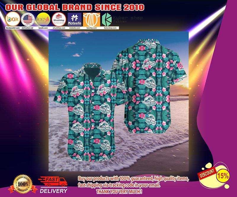 Jurassic park 3d hawaii shirt 3