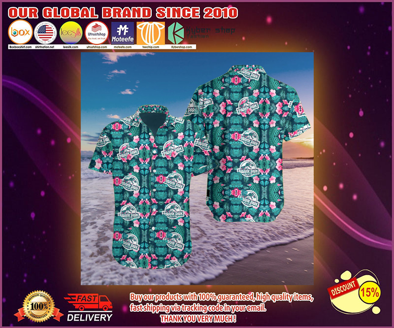 Jurassic park 3d hawaii shirt 4