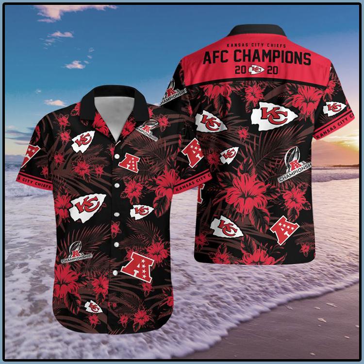 Kansas City Chiefs AFC Champions Hawaiian Shirt 8