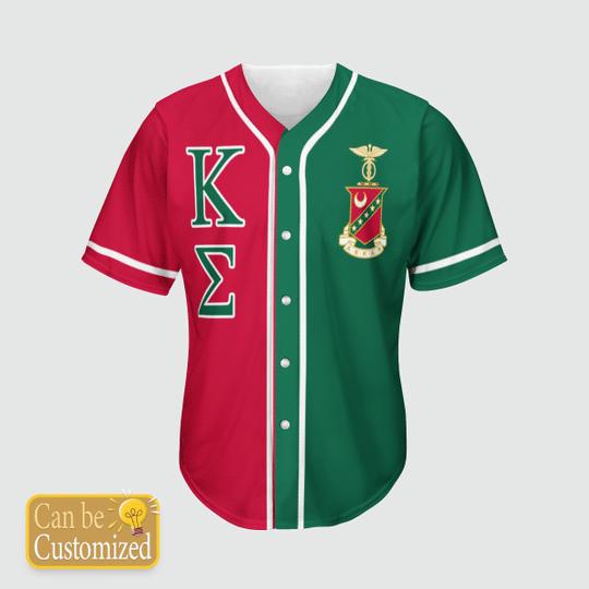 Kappa Sigma Personalized Baseball Jersey3