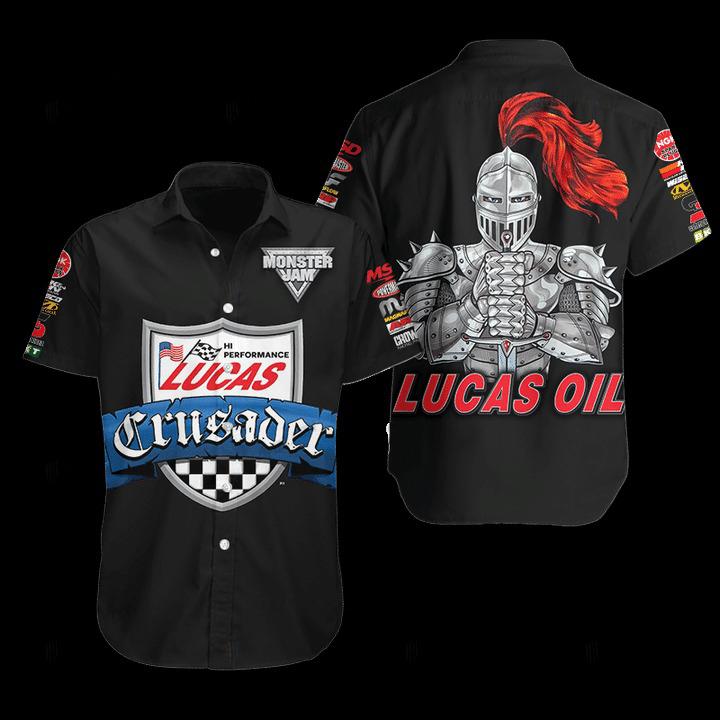 Lucas Oil Hawaiian Shirt