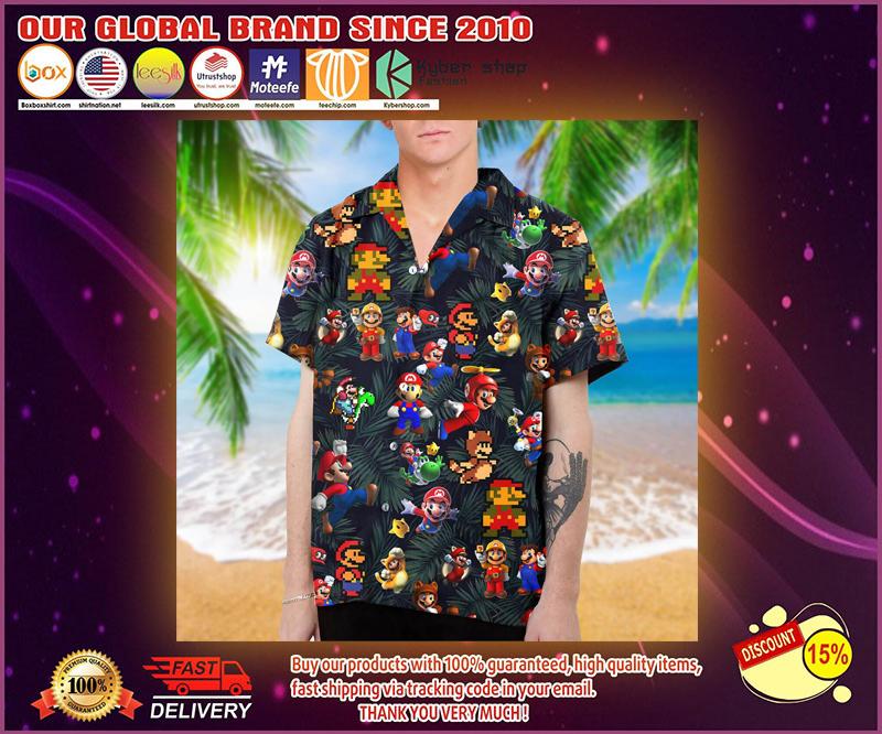 Mario hawaiian shirt 4