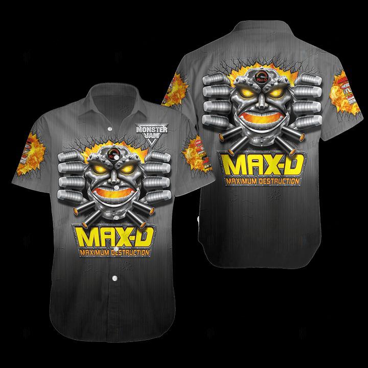 Maximum Destruction Hawaiian Shirt