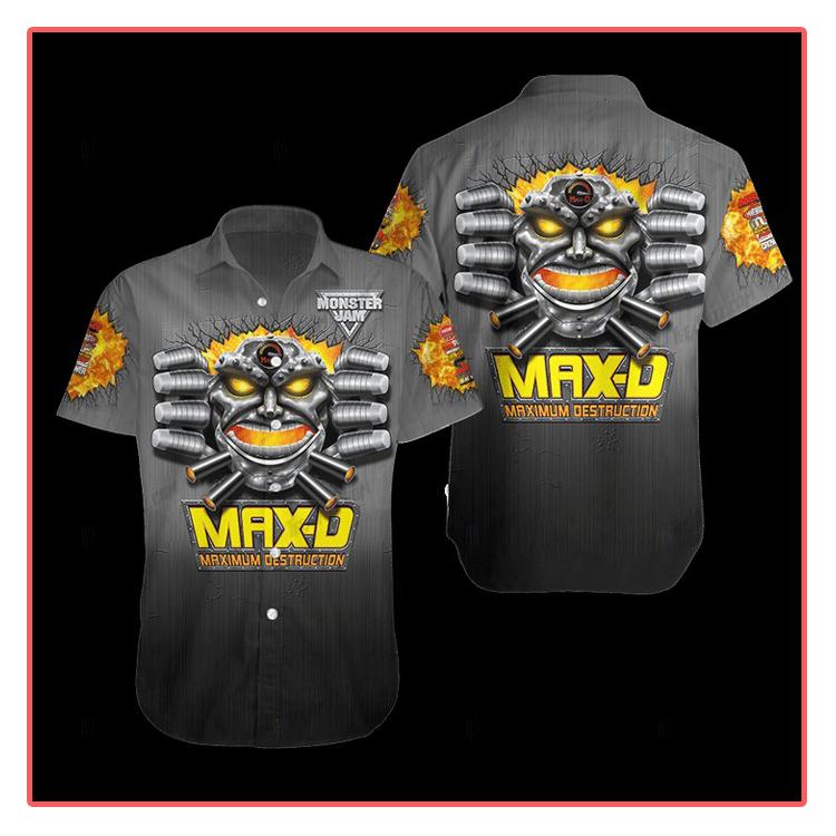 Maximum Destruction Hawaiian Shirt1