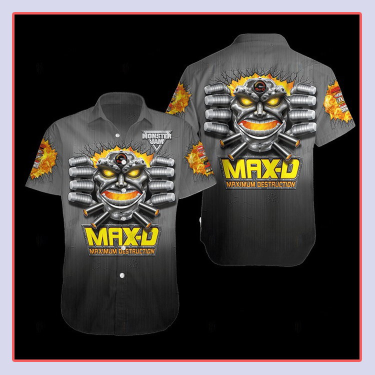 Maximum Destruction Hawaiian Shirt4