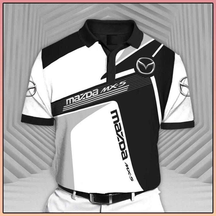 Mazda CX5 Short Sleeve Polo Shirt