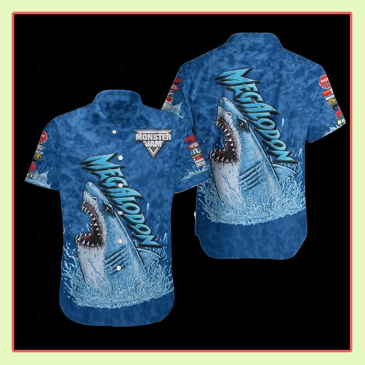 Megalodon Monster Hawaiian Shirt3