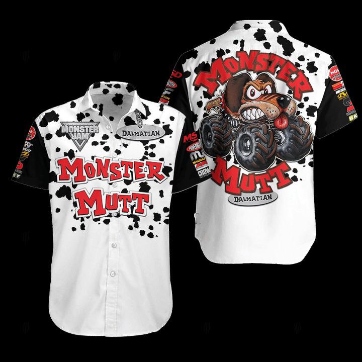 Monster Mutt Hawaiian Shirt
