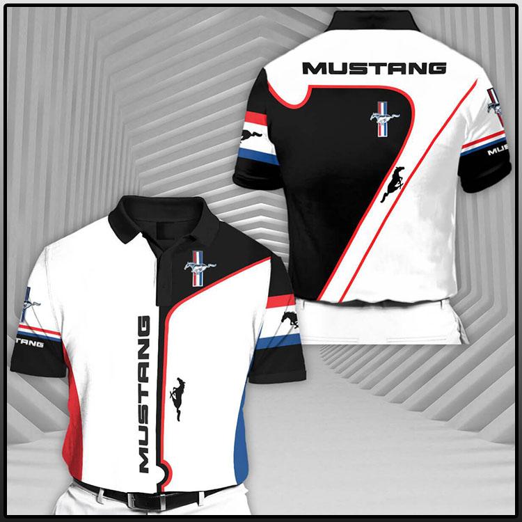 Mustang Short Sleeve Polo Shirt