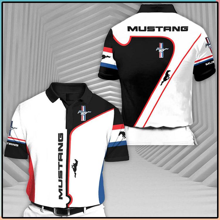 Mustang Short Sleeve Polo Shirt2