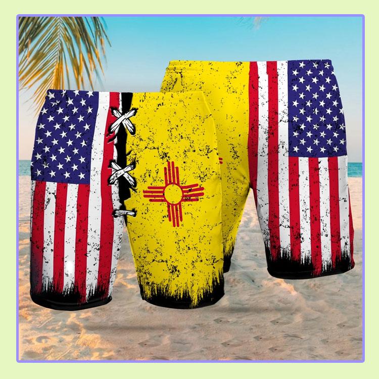 New Mexico flag Beach short