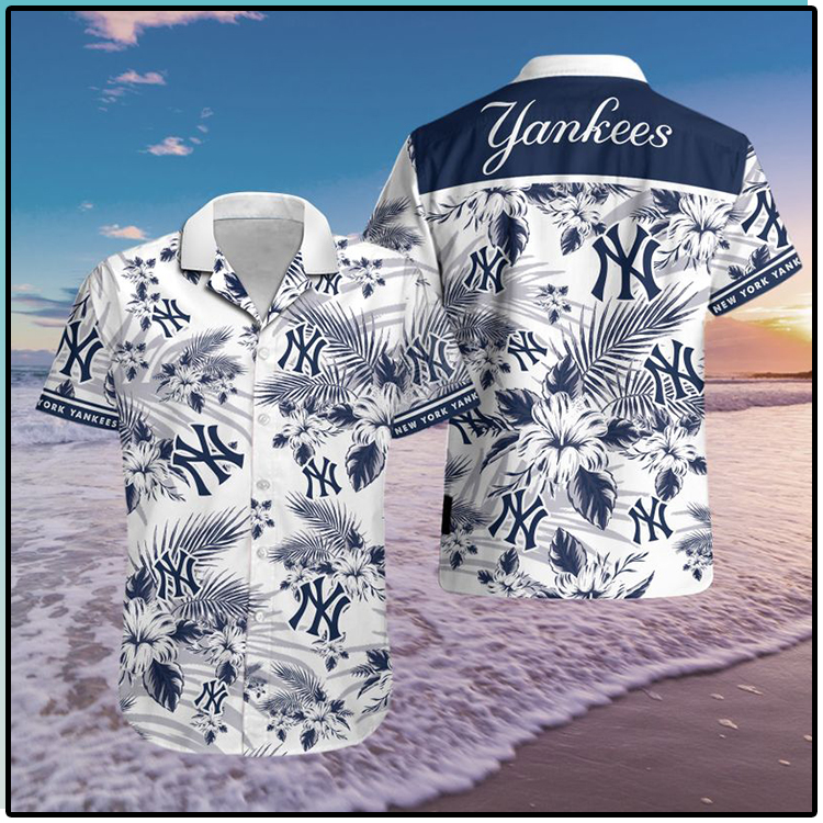 New York Yankees Hawaiian Shirt3